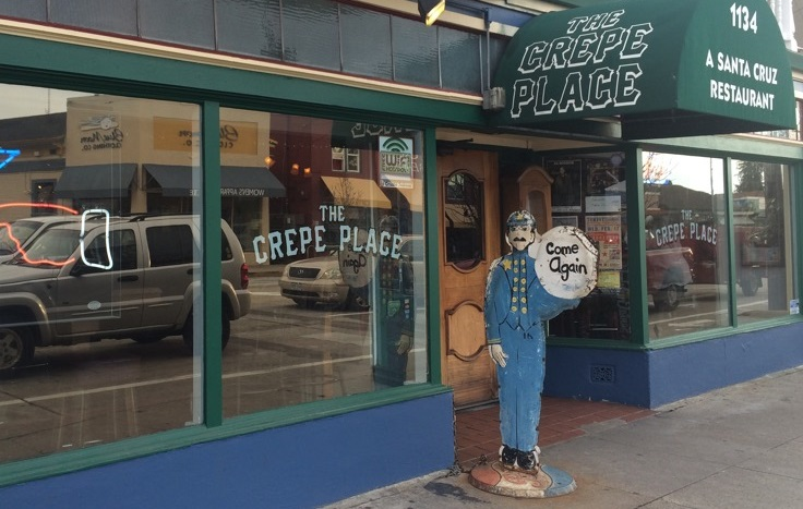 The Crepe Place, Santa Cruz